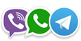 telegram-viber-whatsapp